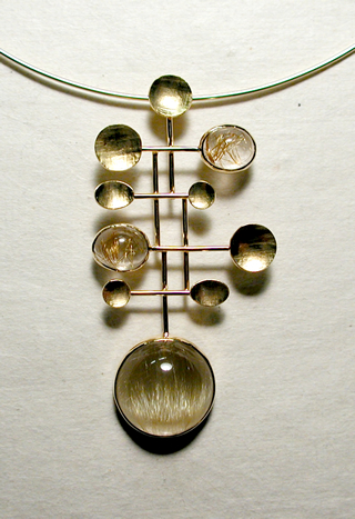 Contemporary Jewelry Designer - Goldsmith - Artist - Studio Jeweler - Susan Sarantos