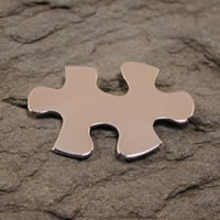 sterling silver puzzle pin brooch jewelry
